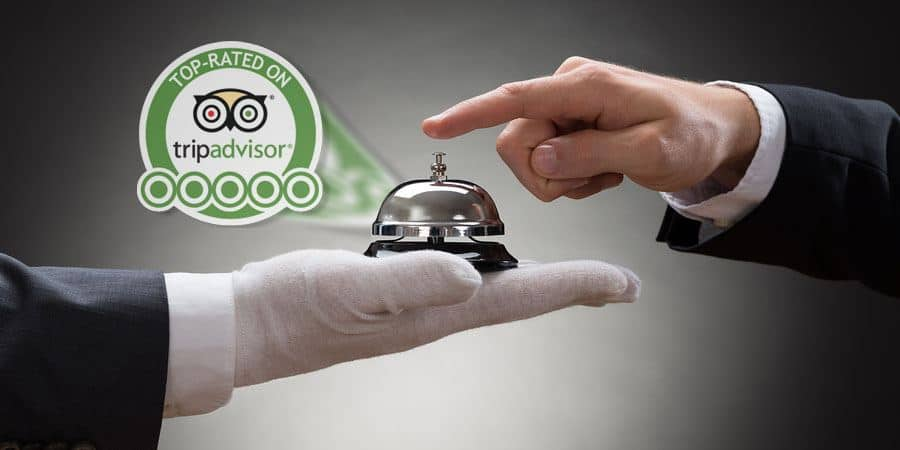 How hotels encourage guest reviews