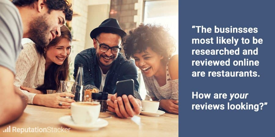 How restaurants can get more reviews
