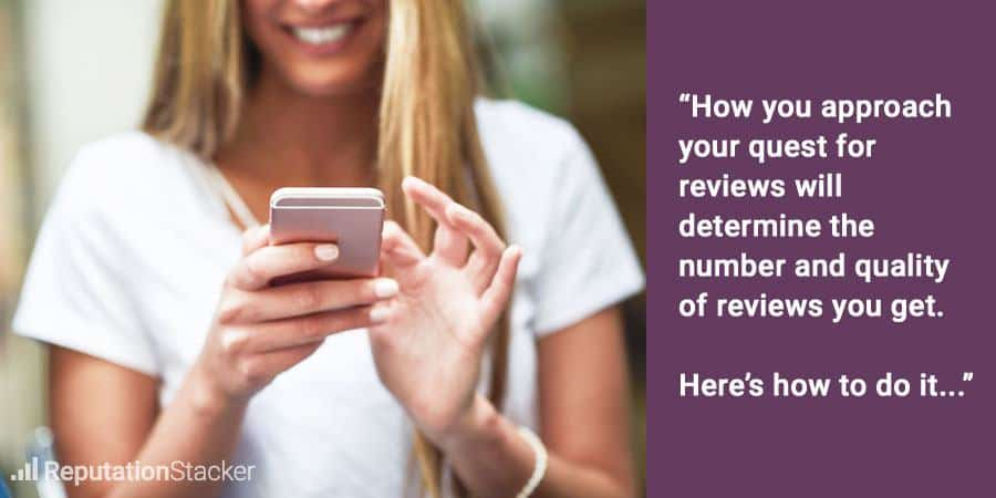 How To Get More Online Reviews From My Customers