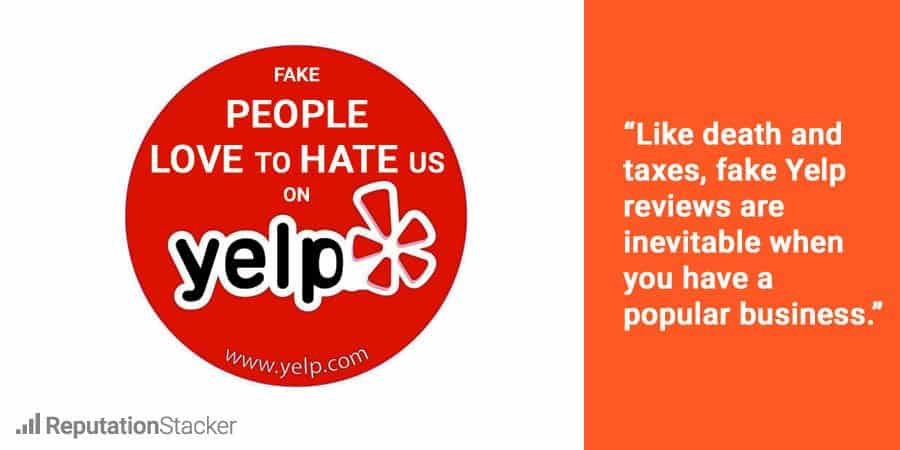 Remove bad Yelp review