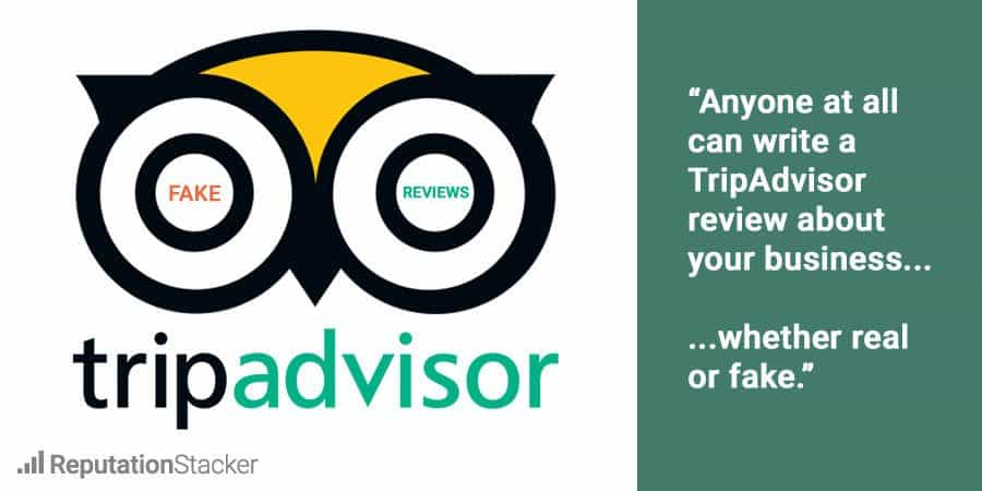 Remove bad TripAdvisor review
