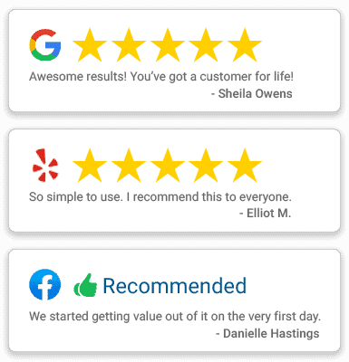 How to generate online reviews for your business